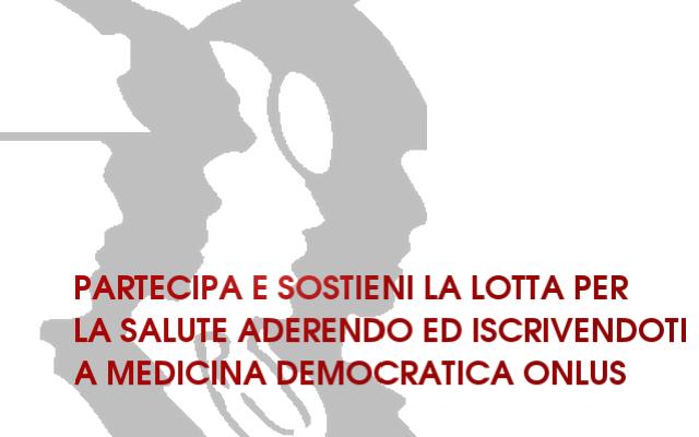 ADERISCI A MEDICINA DEMOCRATICA ONLUS