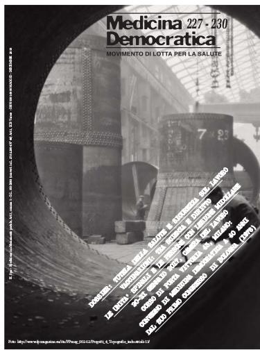 Copertina ultimo numero rivista